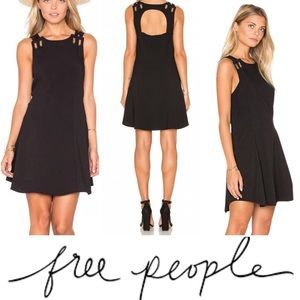 Free People • 'Baby Love' Cut Out Sleeveless Dress